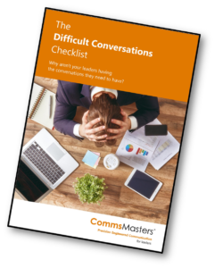 Difficult Conversations Checklist